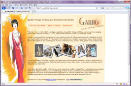 Vintage Clothing and Accessories - Garbo Antiques