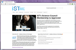 IST - Institute of Science & Technology