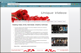 Unique Videos - Wedding Videos, DVDs
